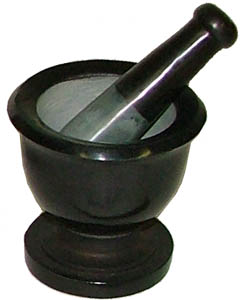 Mortar Pestle small
