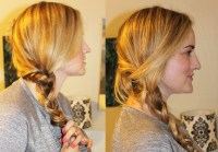 The Easiest Loose Side Braid Tutorial
