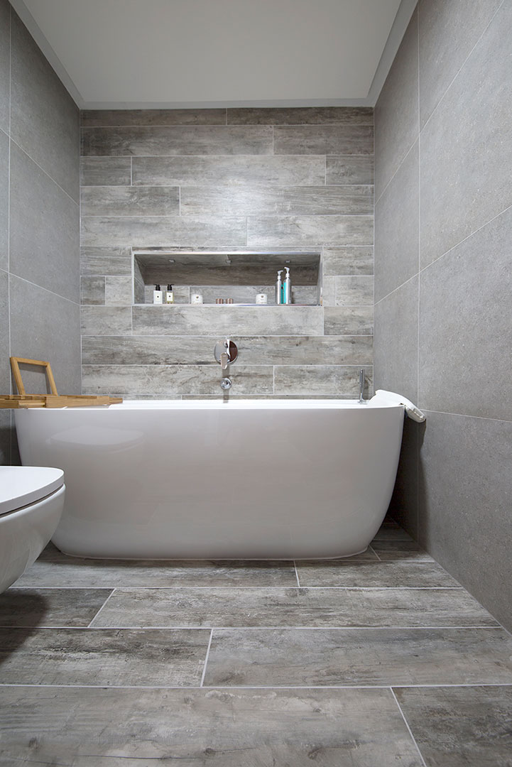 Grey And Brown Bathroom Pebble Grey Porcelain Stone Tiles | Porcelain Tiles