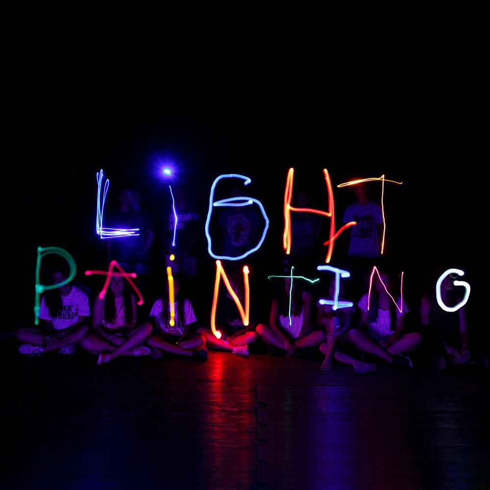 Increase Your Kid S Creativity With Light Painting My Studio Party Blog