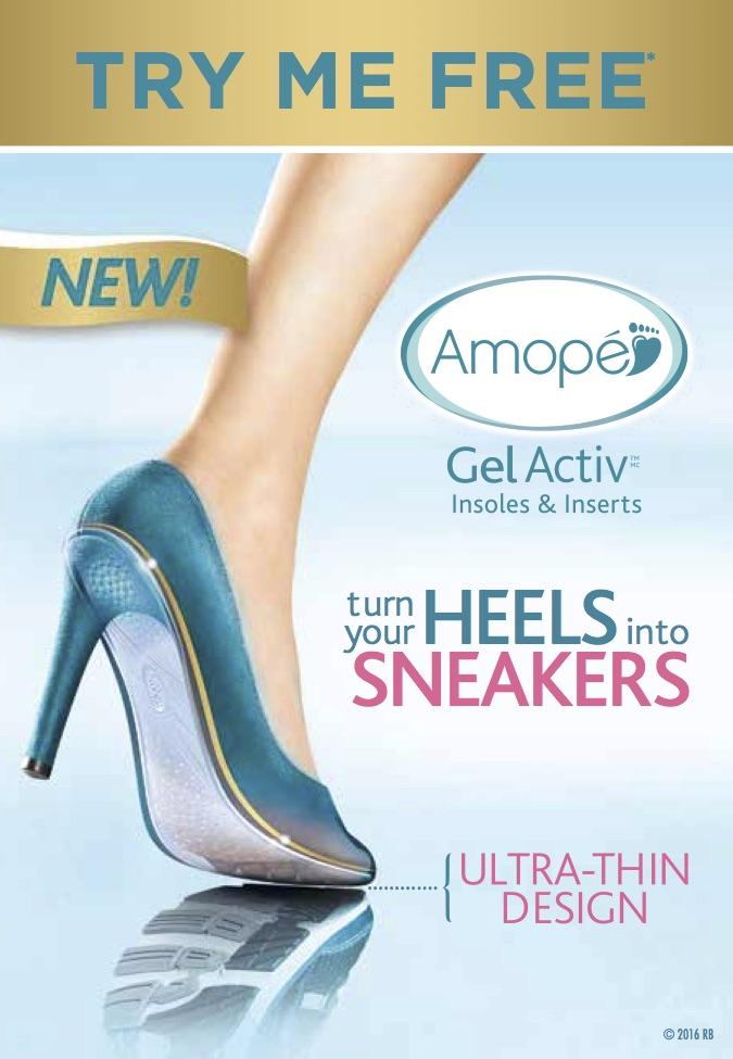 amope gel liner inserts- turn your fav pair of heels into sneakers!