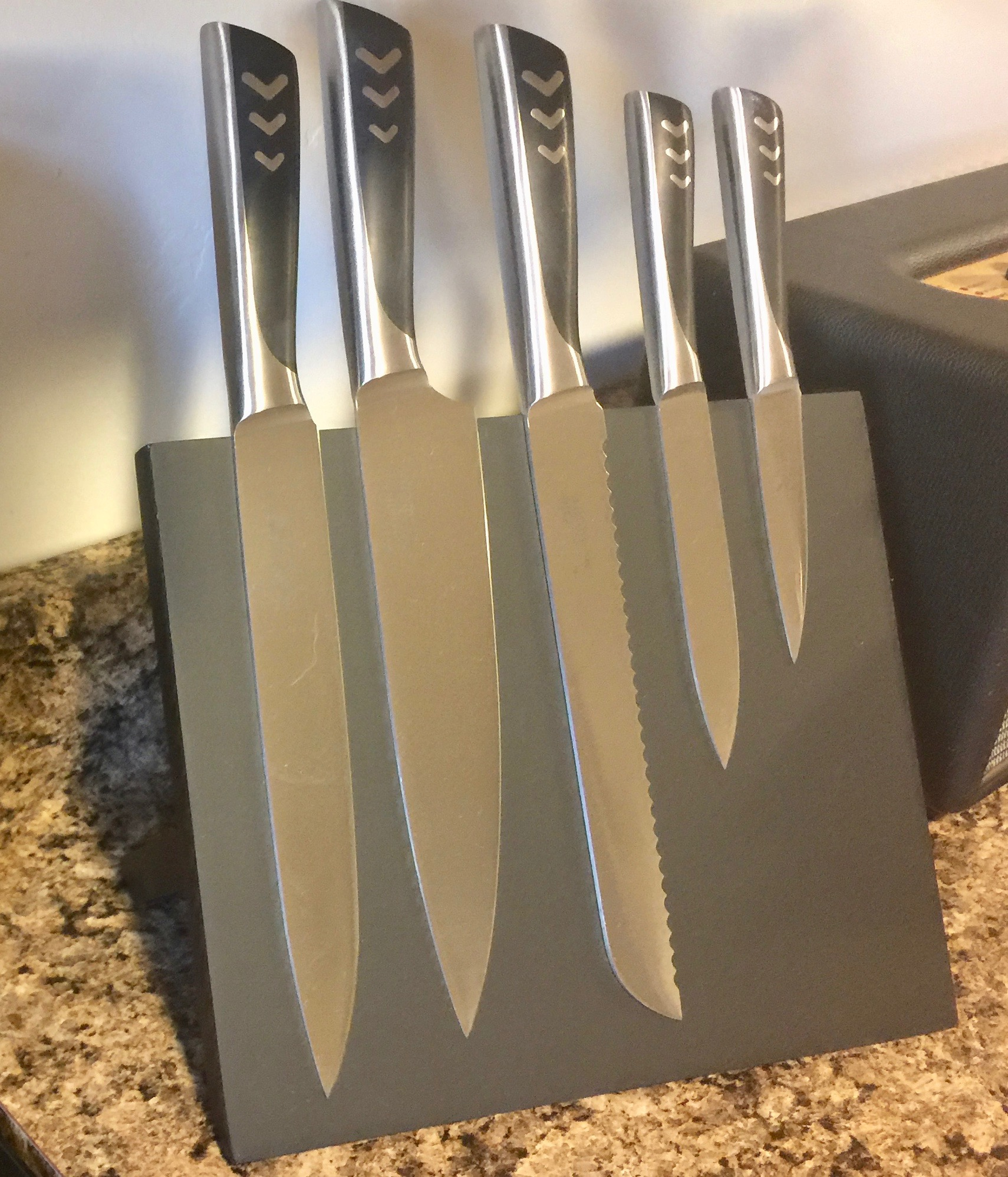 Standing Knife Flatware A Great Gift For The Cook Crucible Cookware 6 Piece