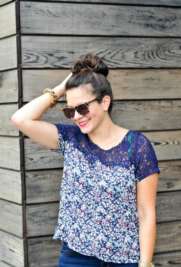 American Eagle LAce Top 2