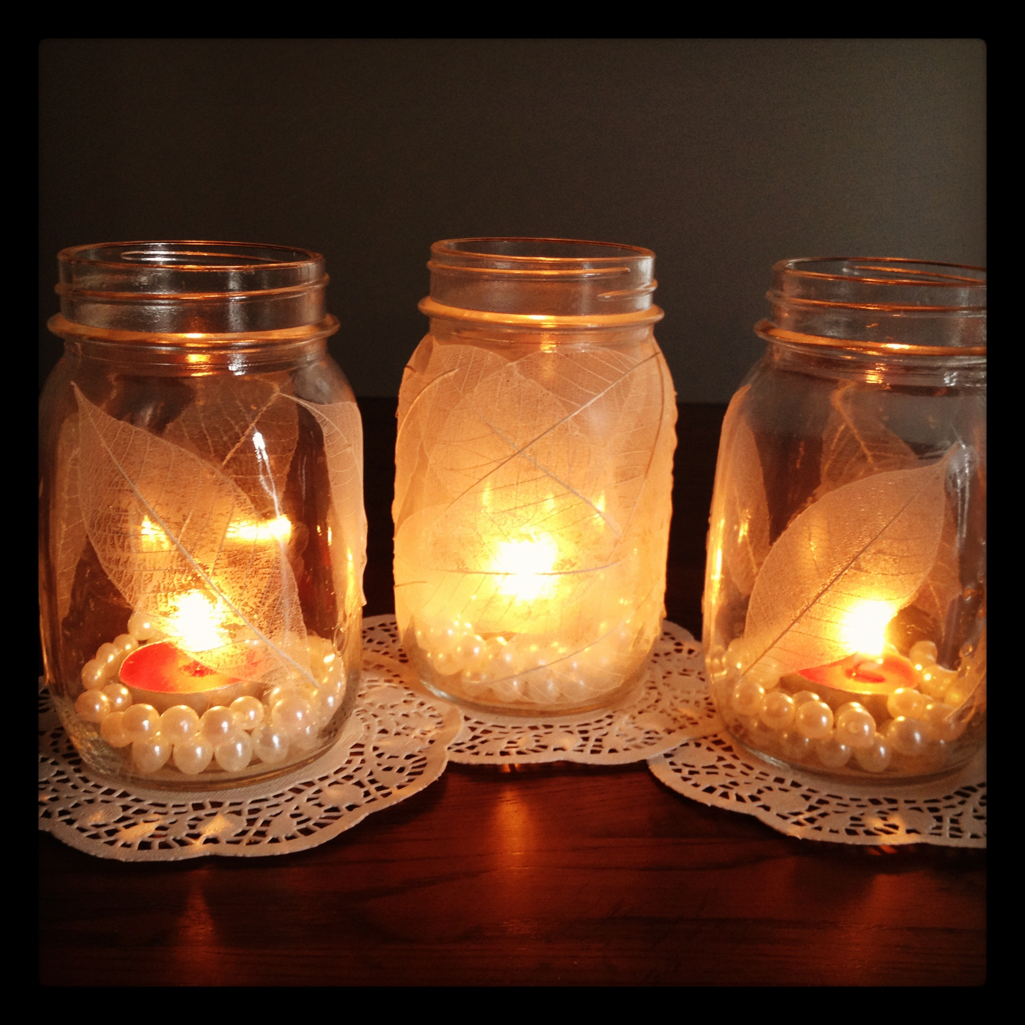 Diy Homemade Votive Candle Holders My Subjunctive