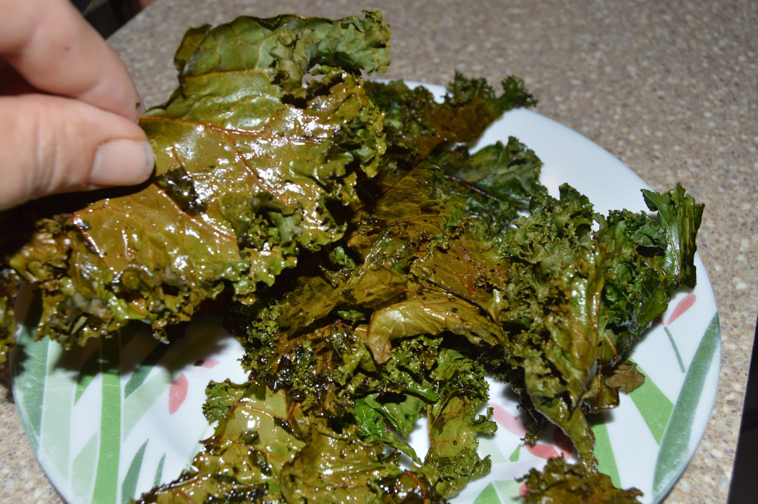 how to make oven baked kale chips