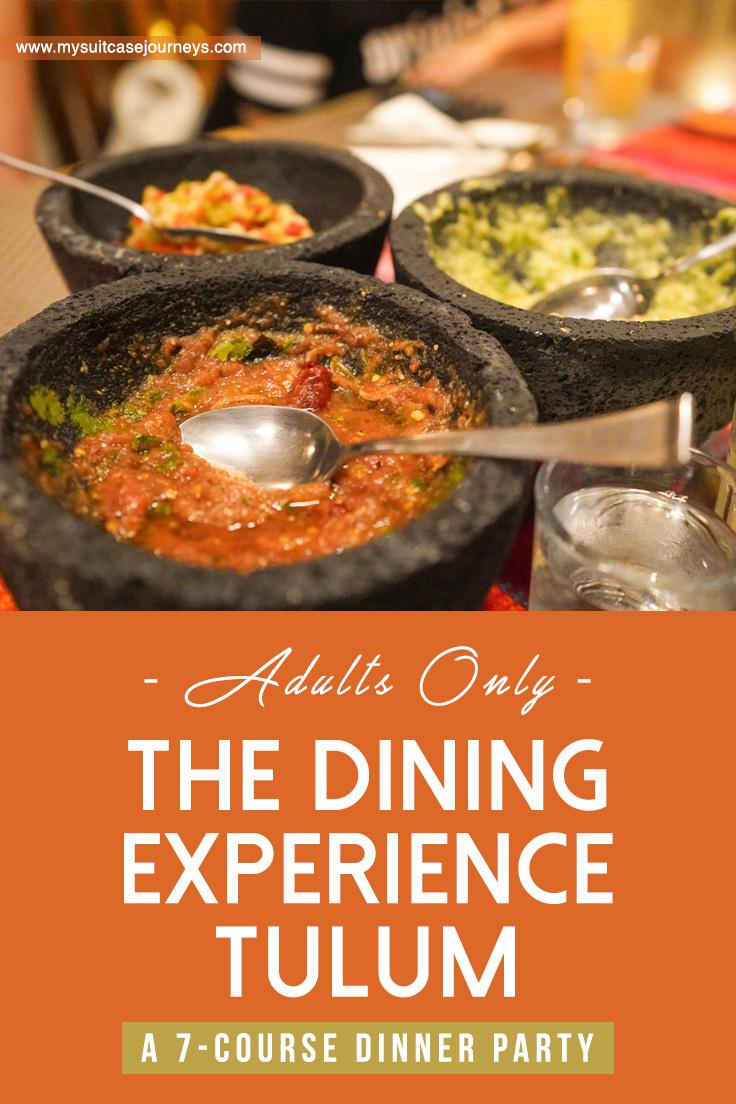 The Dining Experience Tulum Tulum S Newest Adults Only Dinner Party