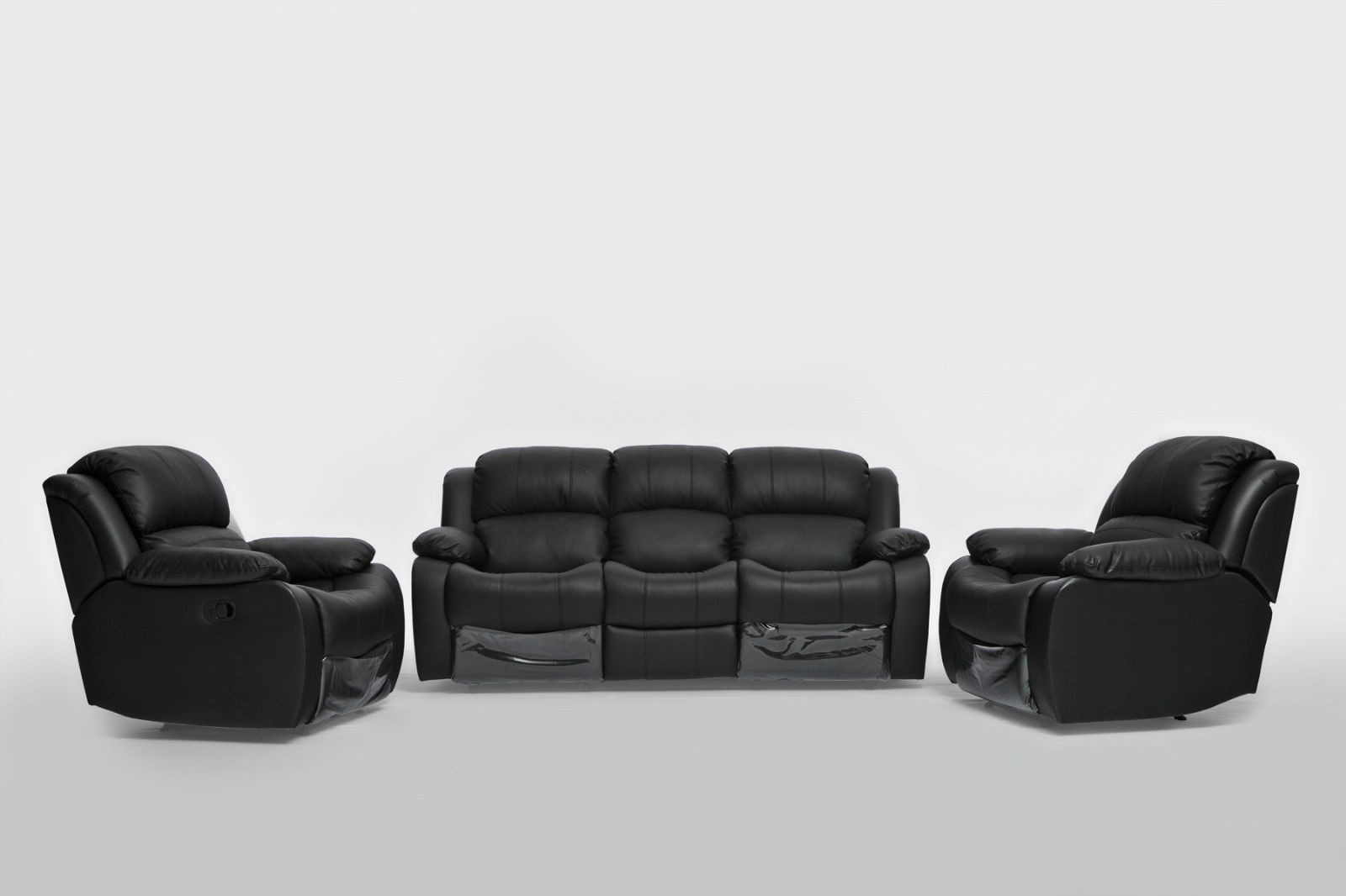 2 Seater Recliner Lounge Kacey 3 Seater Chair Recliner Couch Lounge Suite Sofa