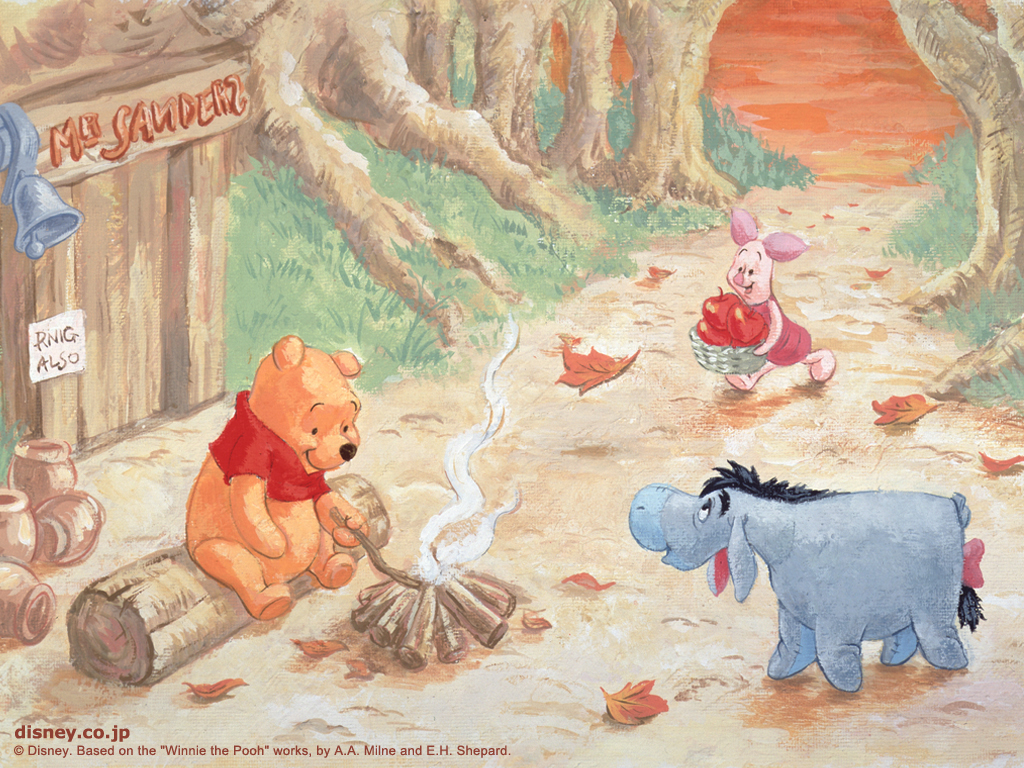 Change Is Coming Quotes Wallpaper Winnie The Pooh My Sweet World