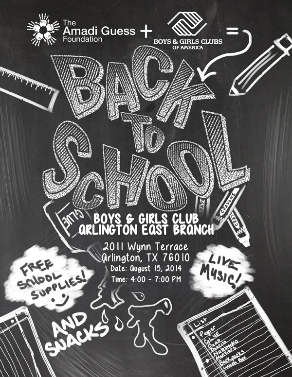The Amadi Guess Foundation\u0027s Back-To-School Drive Joins Up With Boys - back to school flyers