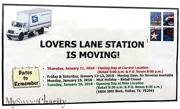 Lovers Lane Post Office On Greenville Is Shutting Down On Thursday