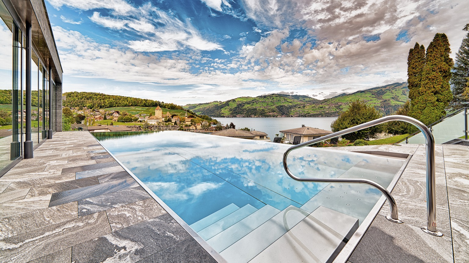 Luxus Outdoor Pool Panoramic Outdoor Pools Switzerland Tourism
