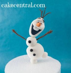 olaf-cake-tutorial