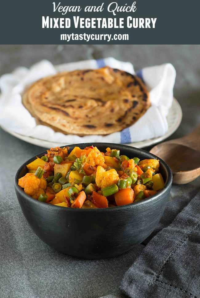 ... Vegetable Sabzi Recipe | Home Style Simple Curry | My Tasty Curry