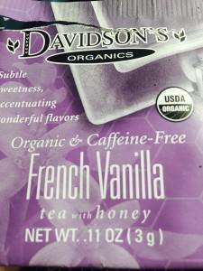 French Vanilla Tea by Davidson Tea Company