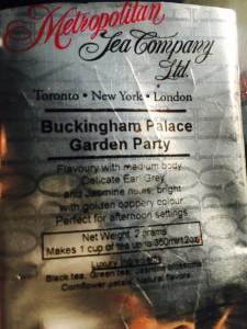 Buckingham Palace Garden Party by Metropolitan Tea Company