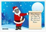 Elf Yourself Dancing Santa Card