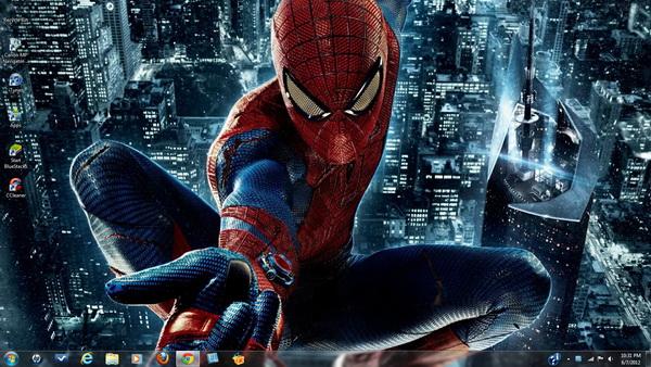 spiderman windows 10 theme
