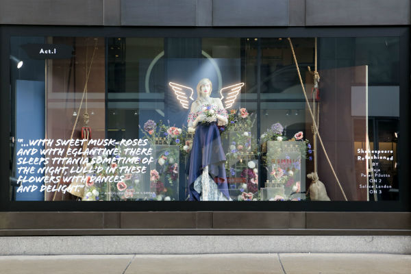 Selfridges launches Shakespeare ReFASHIONed A Midsummer Night's Dream wi