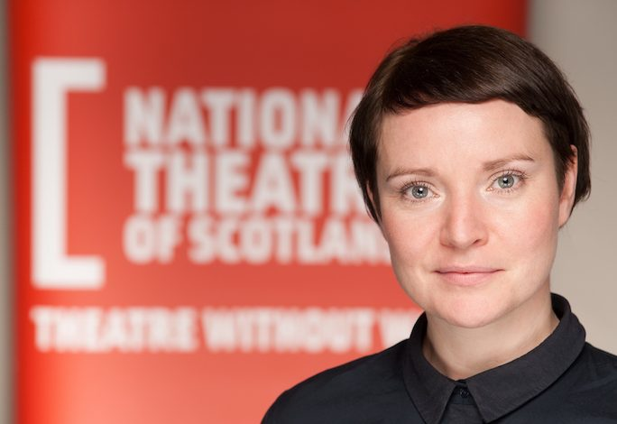 Jackie Wylie, newly-appointed Artistic Director of the National Theatre of Scotland. Photographed in Glasgow on October 20, 2016