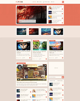 Wordpress Themes Repose