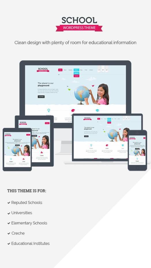 Wordpress Themes School