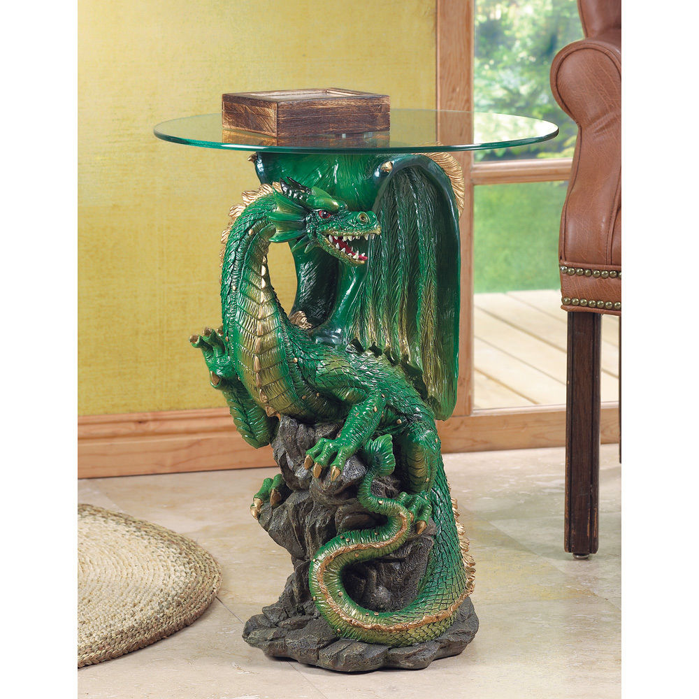 Giant Dragon Statue Dragon Statue Side Table 849179003