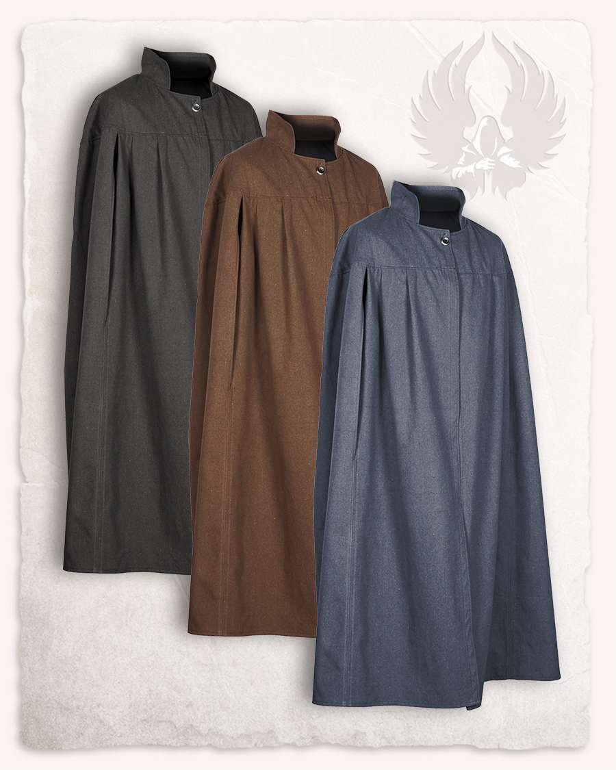 Cape Schwarz Bron Cloak Canvas
