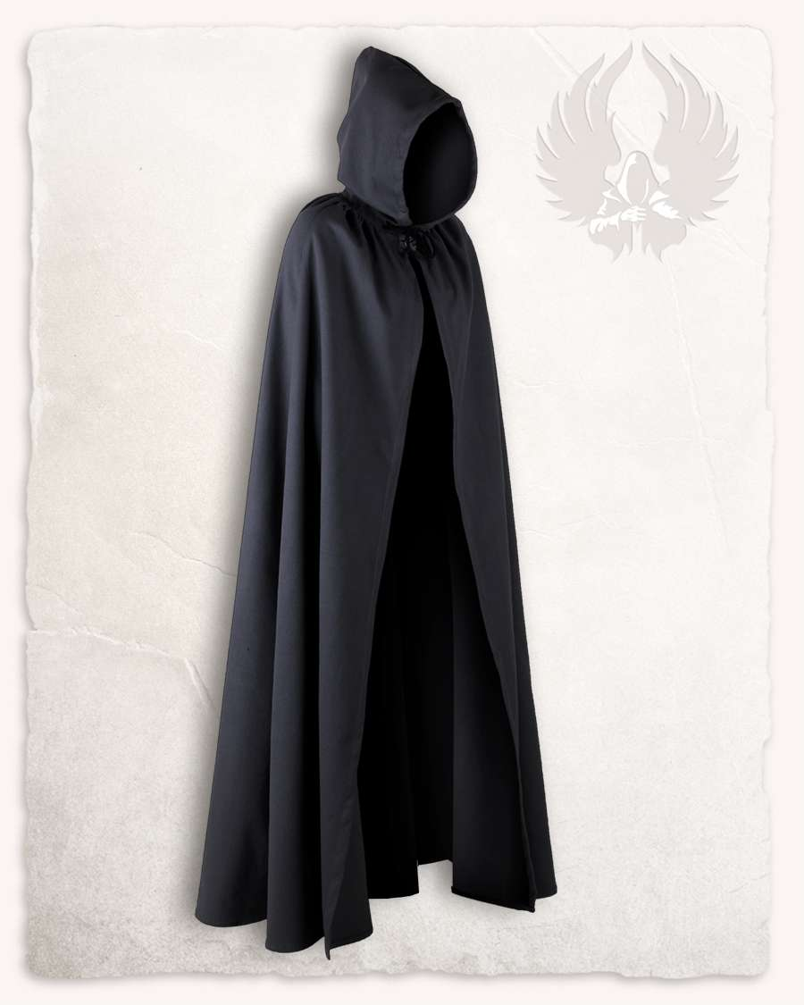 Cape Schwarz Aaron Cloak Canvas Black