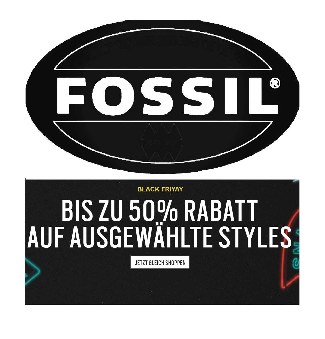 Black Friday Rabatt Fossil Black Friday Sale Mit Bis Zu 50 Rabatt Mytopdeals
