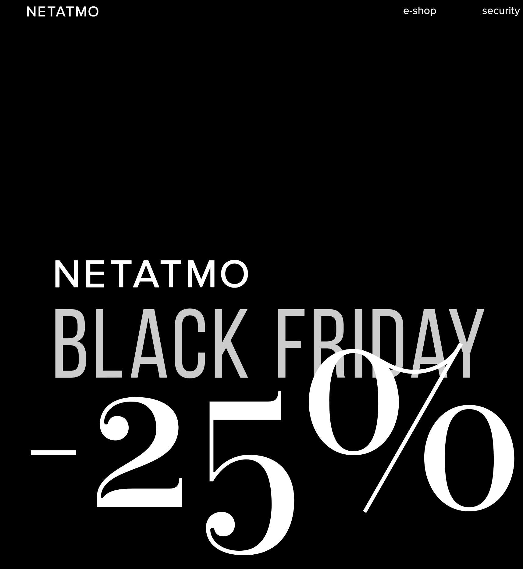 Black Friday Rabatt Netatmo Black Friday 25 Rabatt Auf Alles Mytopdeals