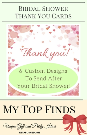 Bridal Shower Thank You Cards My Top Finds