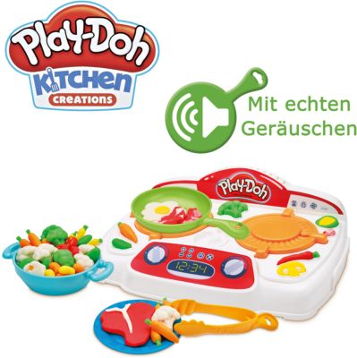Play Doh Küche Knete Set Play Doh Kitchen Brutzel Herd Hasbro Mytoys