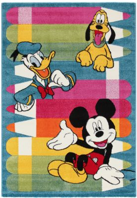 Mickey Mouse Teppich Disney Mickey Mouse And Friends Mytoys
