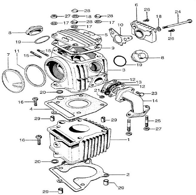 Z50A/Z50R Cylinder Head Gasket
