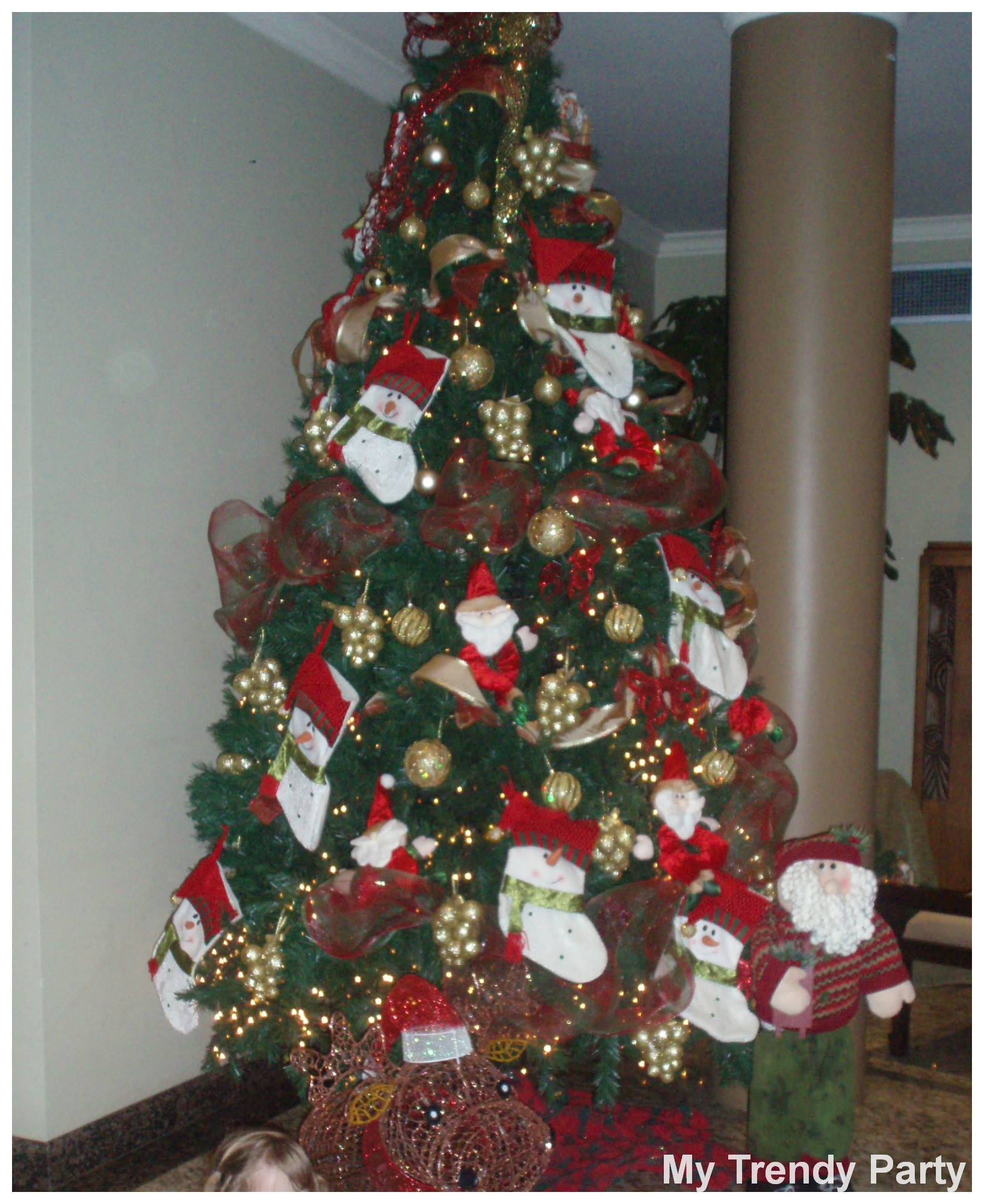 Decorar Arboles Como Decorar Tu Arbol De Navidad My Trendy Party