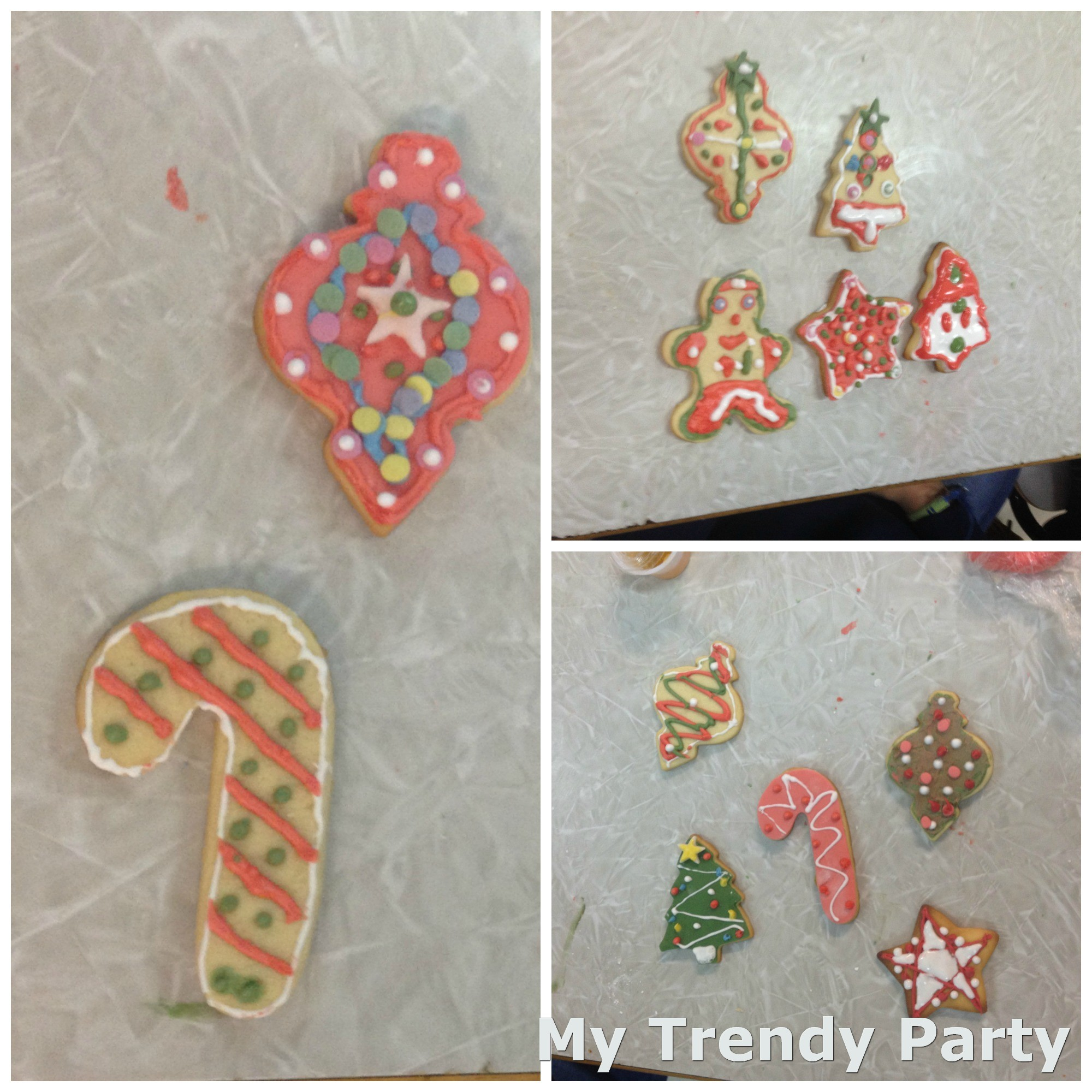 Decorar Galletas Con Niños Curso De Galletas Galletas NavideÑas My Trendy Party