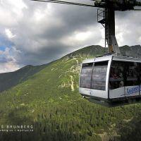 Med linbana upp i Tatrabergen