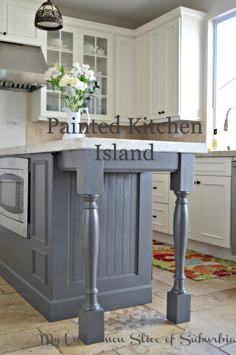Large Of Painted Kitchen Islands