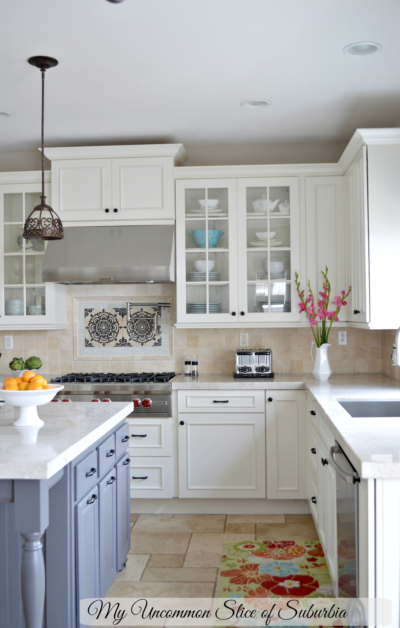 White Elegant Kitchen Remodel