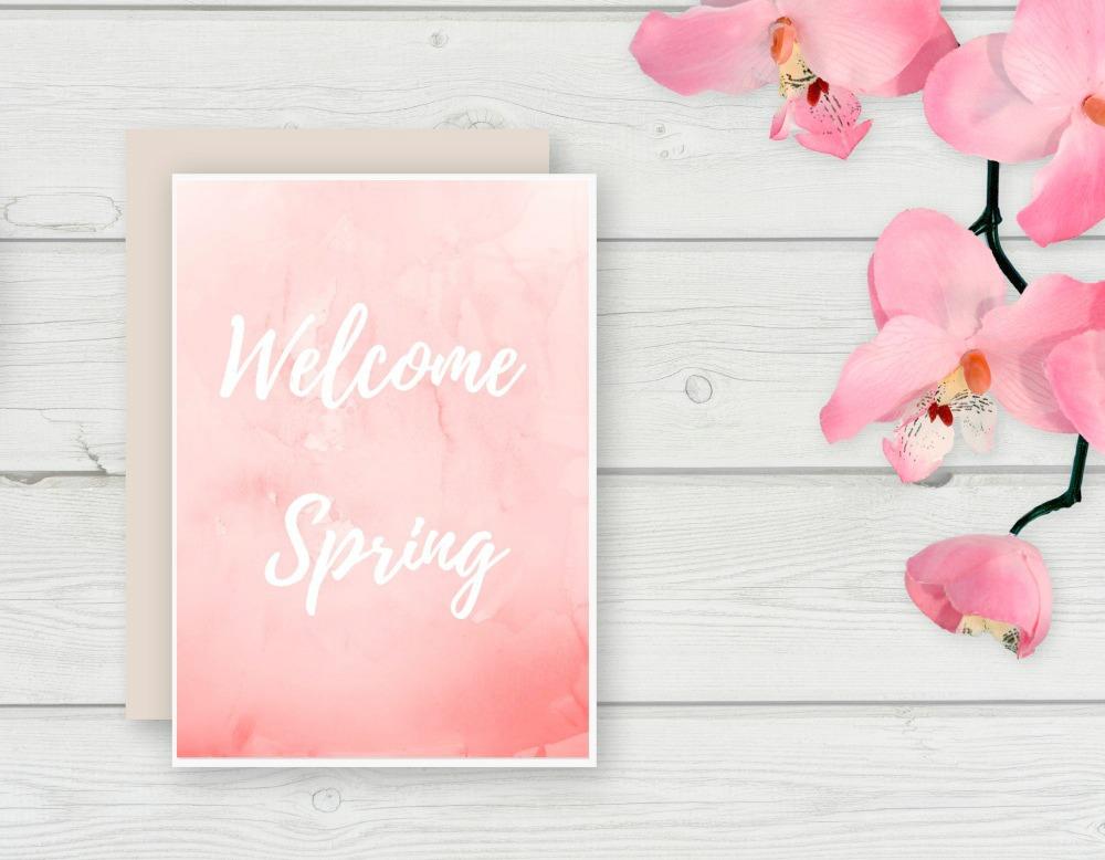 Free Spring Printable - My Uncommon Slice of Suburbia