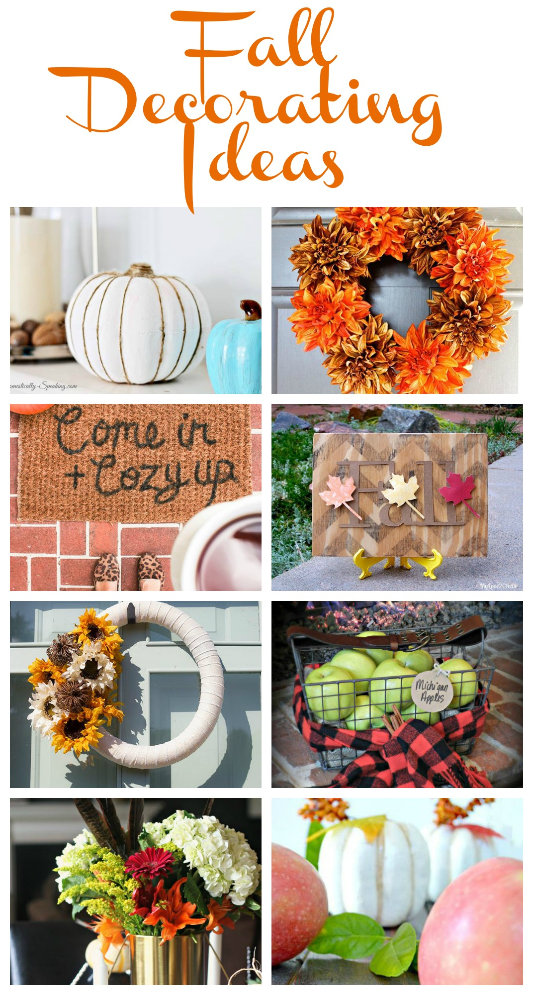 Fall Decor To Make Fall Decorating Ideas My Uncommon Slice Of Suburbia