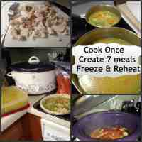 Cook Once Create 7 Freezer Meals