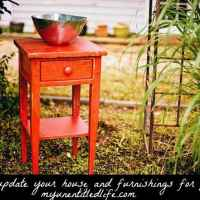 How to update your house and furnishings for pennies
