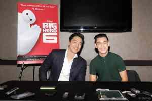 Meet Daniel and Ryan (Tadashi and Hiro) of Big Hero 6