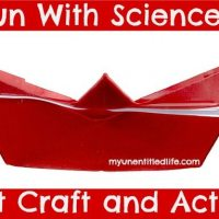 Fun With Science: Boat Craft and Activity