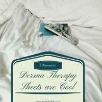 DermaTherapy Sheets make for cool sleeping #ad #nightsweatsnomore @derma_menopause