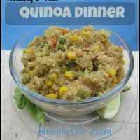 Healthy Quinoa Dinner #12daysof
