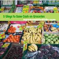 5 ways to save cash on groceries