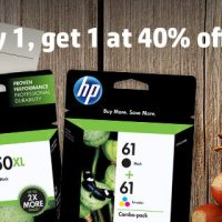 HP Sale on Ink Buy 1 get 2nd for 40% off!! #HPInk #ad