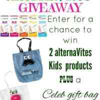 Alternavites Kids Vitamin package giveaway 10/20 US